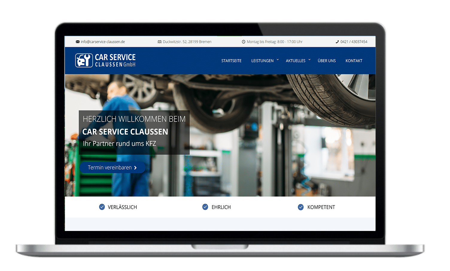 carservice claussen homepage
